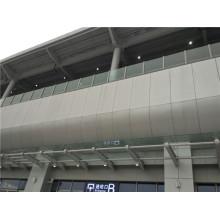 Paneles de nido de abeja revestidos de PVDF para cubiertas y muros exteriores