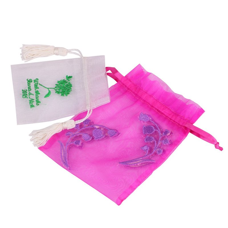 Candy Gift Organza Drawstring Bag