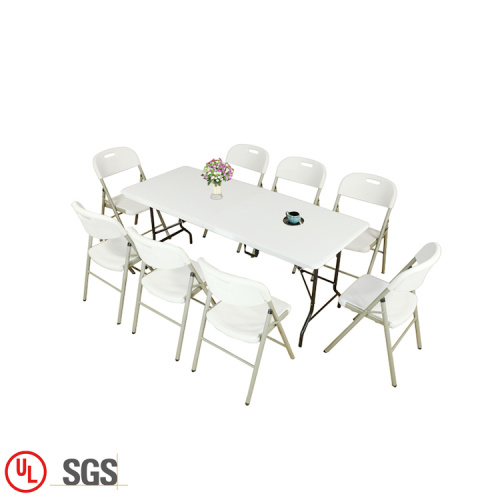 Industrial Foldable Dining Table Convenient To Carry