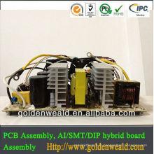 Assemblage de PCBA d'Assemblée de PCB et de carte PCB Assemblée Petit PCBA, fournisseur d'alimentation PCBA CS-60A