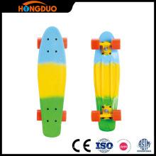 Atacado skateboard PU skateboard skate de niquelar skate board de peixe