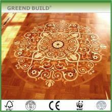 Majestic foyer medallion floor