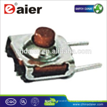 Daier KFC-007 7.3 * 7.2 botón rojo IP67 interruptor táctil a prueba de agua
