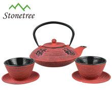 Wholesale New Style Enamel Coated Cast Iron Teapot