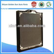 Radiador de aluminio núcleo de material radiador Dongfeng 1301N48-010