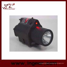 M6 6V 180lm Qd светодиодный Тактический фонарь & красный лазерный прицел ахроматического света