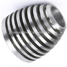 Fundición a presión de aluminio de alta precisión OEM para piezas de iluminación que trabajan a máquina