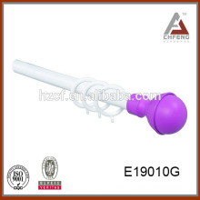 E19010 drapery accessories Retractable Curtain Rail/curtain rods and rails/small telescopic curtain rod