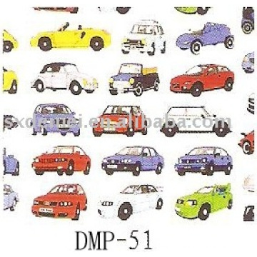 more than five hundred patterns canvas car fabric