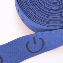 Dünnes blaues farbiges Dacron / Nylon / Baumwollband elastisch zum Klettern