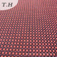 Leinen-Garn-Farbstoff überprüft Stoff für Sofa
