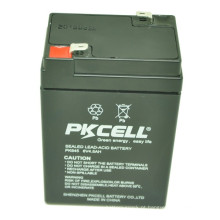 A bateria 2016 do poder superior VRLA selou a bateria de carro acidificada ao chumbo da bateria 6v 4.5ah 4.5ah