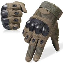 Hard Knuckle Training Protection Full Finger Mittens Army Military Gloves Motorcycle Racing