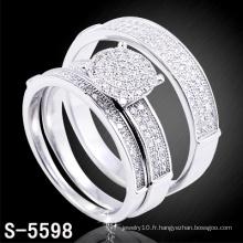 Anneaux en cristal de bijoux de mode de haute qualité (S-5598.