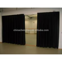 Cortinas pretas do estágio, tela conduzida da cortina do estágio