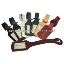 High Quality Bulk Leather Luggage Tags