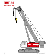 Official Telescopic Crawler Crane