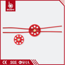 PC revestido 2m Tipo de rueda 6padlock Bloqueo del cable de bloqueo (BD-L31)
