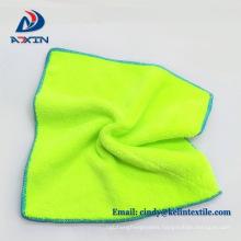 Super cheap 80% polyester 20% polyamide microfiber coral fleece car polishing microfiber cloth
