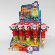 Santa Clause Shaking Bell Toy Candy (90510)