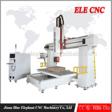 Hot sales 2013 new type cnc router machine 5 axes with CE