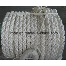 8 Strand Polyester Rope / Mooring Rope
