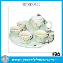 Juego de té de regalo de cerámica china de promoción