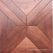 Prefinished Coffee Popular Oak Solid Wood Flooring