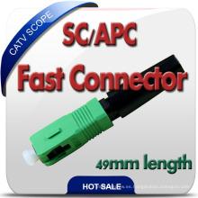 Nuevo diseño Fase montaje Sc / Upc Conector Fabricado en China