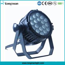 18X10W RGBW 4in1 LED PAR-Licht im Freien für Stadium