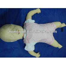ISO Infling Choking and CPR Manikin, modelo de treinamento de primeiros socorros