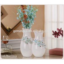 New arrival hot selling high quality home decor ceramic flower pottery floor flower vase