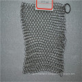 316L Cheaper cast iron cleaner chainmail scrubber / Kitchen ware