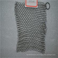 316 6 * 8 Edelstahl Teller Kettenpanzer Wäscher