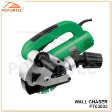 Caçador elétrico Grooving da parede da máquina de Powertec 1550W 150mm (PT83503)