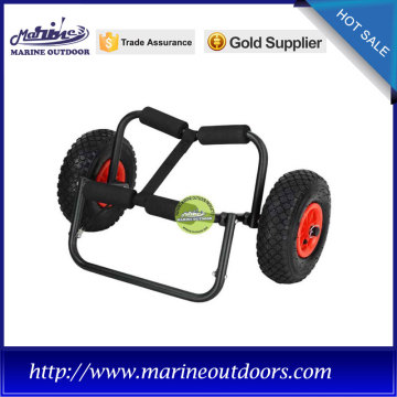 Canoe kayak trailer, Aliminum kayak trolley, Canoe beach cart