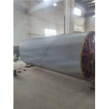 Экран из нержавеющей стали для цилиндрической бумагоделательной машины