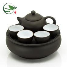Handgemalte Chrysantheme Blume Portable Travel Tee-Set