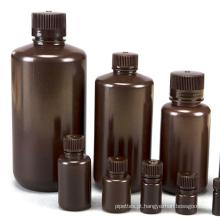 Frasco de reagente de plástico com boca estreita e multisize de qualidade