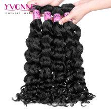 Großhandels-italienisches lockiges malaysisches Jungfrau-Remy-Haar