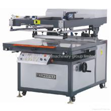 Máquina de impressão lisa da tela de seda lisa aprovada do Ce do braço oblíquo