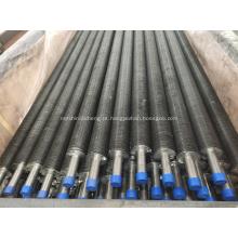 Tubo com aletas tipo ASTM B163 UNS N04400 Monel 400 G
