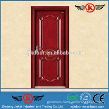 JK-SD9008 solid cherry wood kitchen cabinet door/interior swing door kitchen