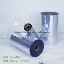 Klare pharmazeutische PVC starre Folie für Medizin Verpackung