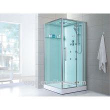 EAGO cabine de douche carrée avec jets de massage D989A