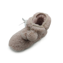 Fashion warm faux fur slippers for women Non-slip hot sell autumn and winter slippers Factory custom thermal slippers