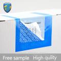 Etiqueta de segurança anti-falsificação anti-falsificação da fábrica de alta qualidade do fornecedor chinês