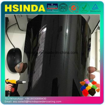 Высокое глянцевое черное гладкое зеркальное покрытие Порошковое покрытие для покрытых автозапчастей