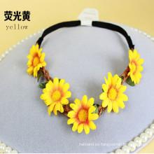 Guirnalda de la guirnalda de la flor para la novia nupcial (HEAD-349)
