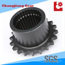Industrial Chain Transmission Spline Stainless Steel Sprocket with Spline Shaft